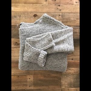AEO crop slouch sweater